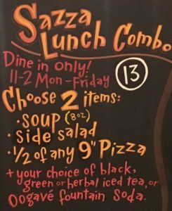 Lunch Special @ Sazza | Greenwood Village | Colorado | United States